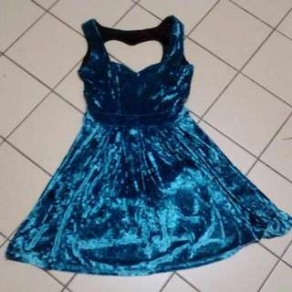 Blue Princess Dress For Adults
