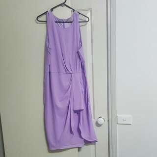 Purple Forcast Dress
