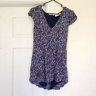 Cute Patterned Playsuit