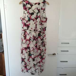 Country Road Silk Floral Dress