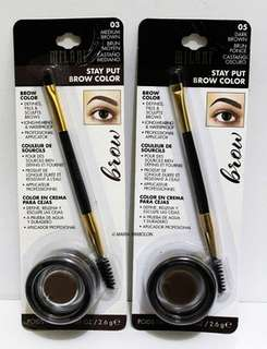 MILANI STAY PUT BROW COLOR ( BEST EYEBROW EVER!!)