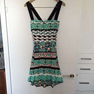 Country road Patterned Dress