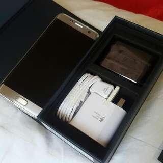 Samsung s7 edge 32gb dual sim ori sme Silver