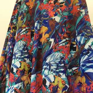 Portmans Floral Maxi Skirt