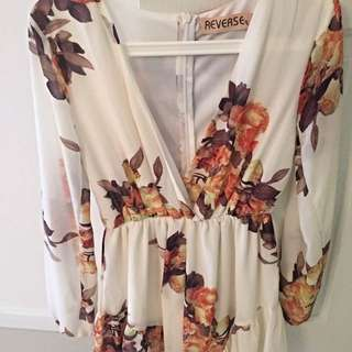 Reverse Playsuit