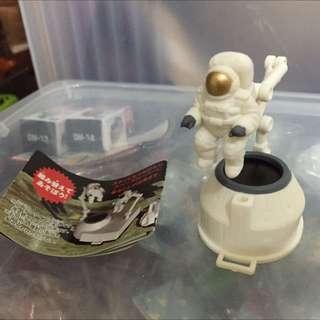 玩具扭蛋 轉蛋 太空人 太空任務