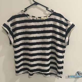 Striped Crop (Size 12)