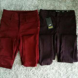 Assorted Coloured Skinny Jeans