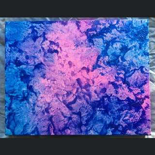 Original Melted Wax Painting