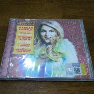 Meghan Trainor Title Debut Deluxe CD DVD Sealed