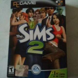 The Sims 2 Pc Game ( 4 Disks Full Edition) Preloved