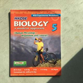 HKDSE BIOLOGY a modern approach 5  (Human Physiology- Regulation and Control)