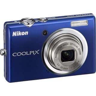 Nikon CoolPix S570 美顏微笑廣角數位相機(二手) 免運費!!