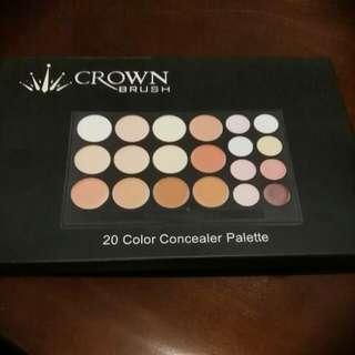 Color Concealor Palette By Crown
