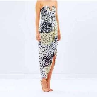 Shona Joy Multicoloured Bustier Dress