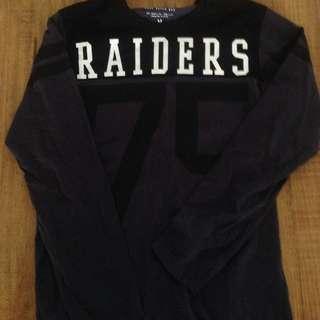 Raiders Long Sleeve Top