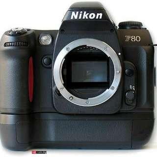 Nikon F80 Film Camera