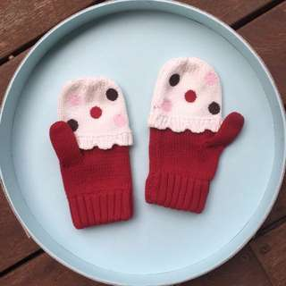 *UNWORN* Pumpkin Patch Gloves