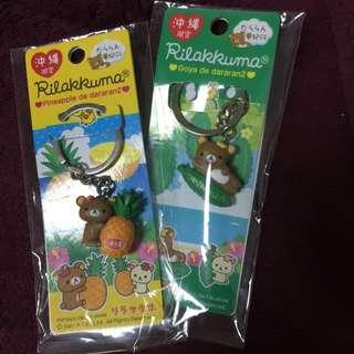 🚚(免運)沖繩限定啦啦熊吊飾