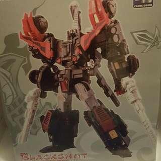 CD 黑六變 變形金剛 Transformer