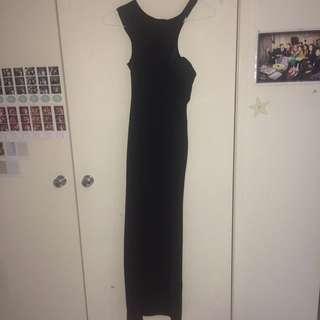 Blossom Black Dress