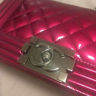 CHANEL BOY BAG SMALL SIZE