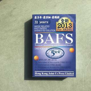 HKDSE 2013 BAFS (1982-2012  DSE+CE+AL  related suggested solution)