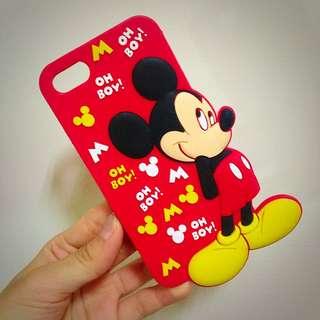 迪士尼 米奇 手機軟殼i5/5s