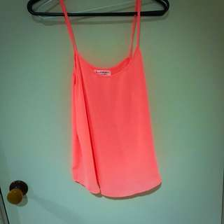Small Cotton On Coral Cami