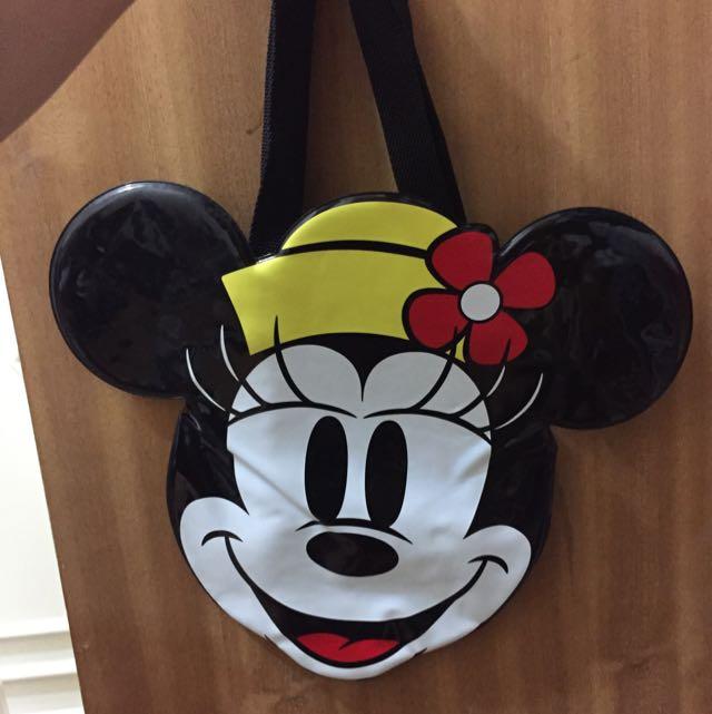 東京迪士尼 米妮造型袋