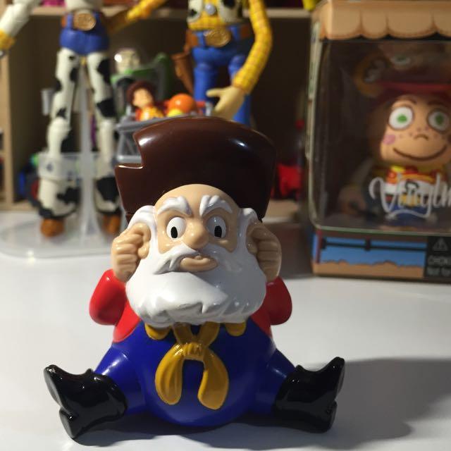 迪士尼 玩具總動員-礦工 邋遢彼得!麥當勞玩具