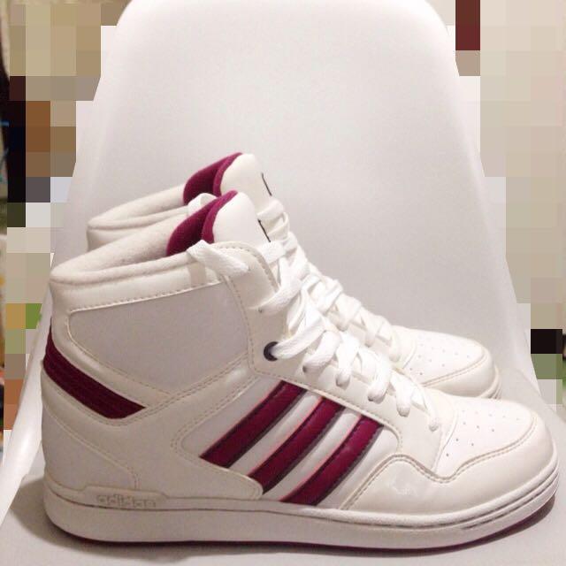 Adidas 高筒運動休閒鞋 紫色 US8.5