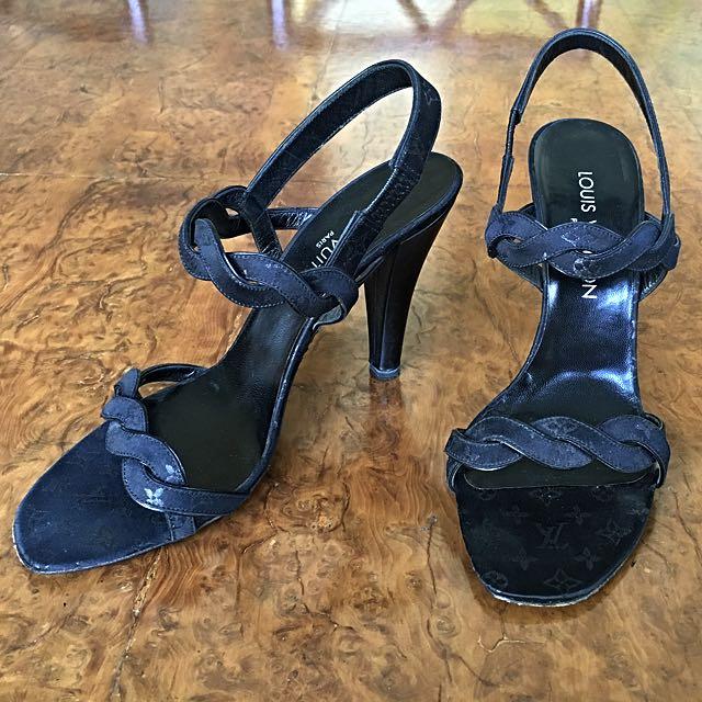 Authentic Louis Vuitton Monogram Heels