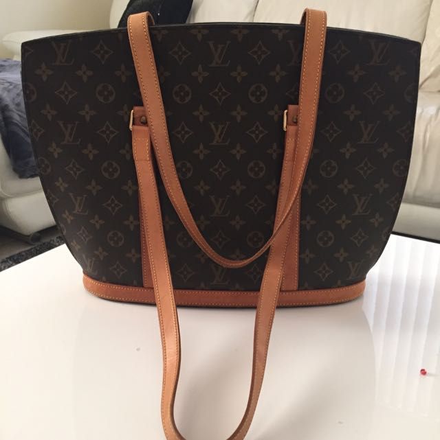 Authentic Monograme LV Leather straps And Trimings.been used Several times.