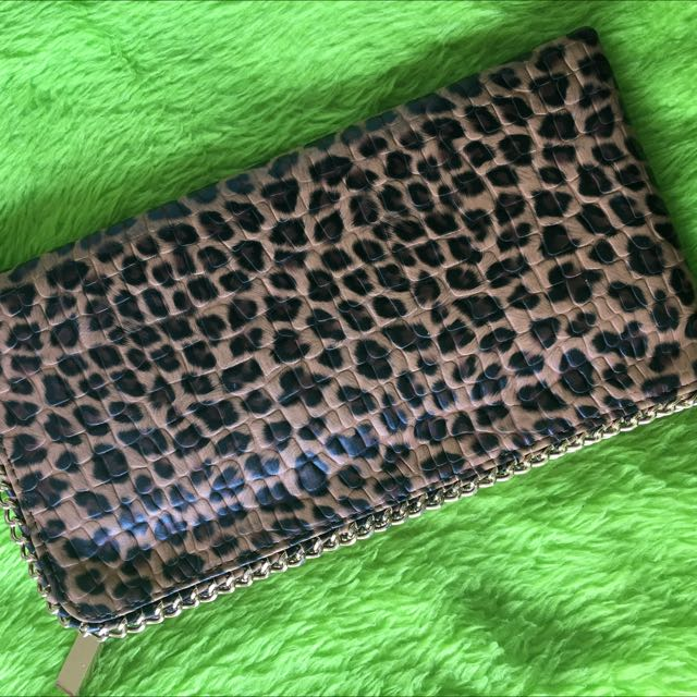 Brand New Leopard Party Slim Bag