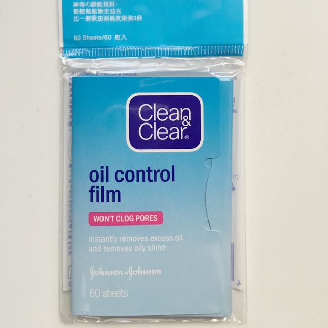 Clean And Clear Blotting Paper