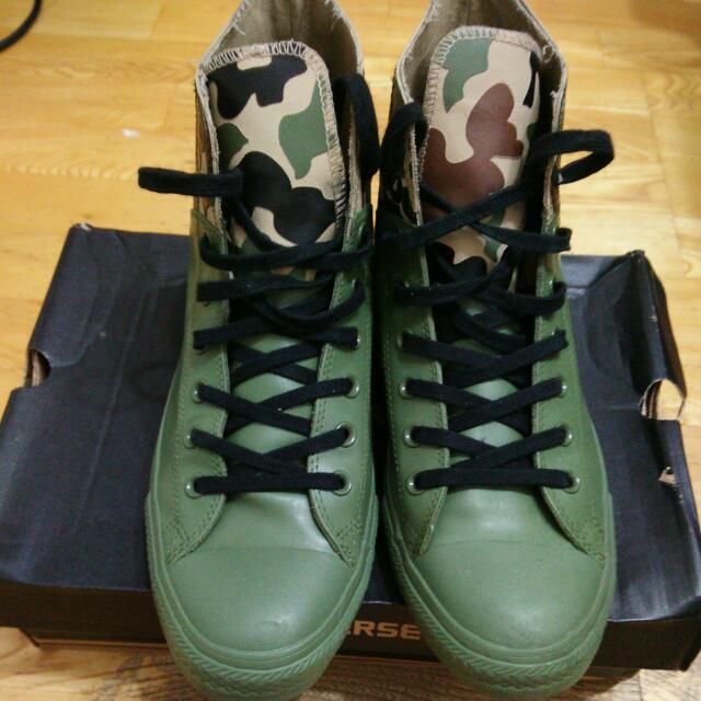(降價)Converse 迷彩雨靴