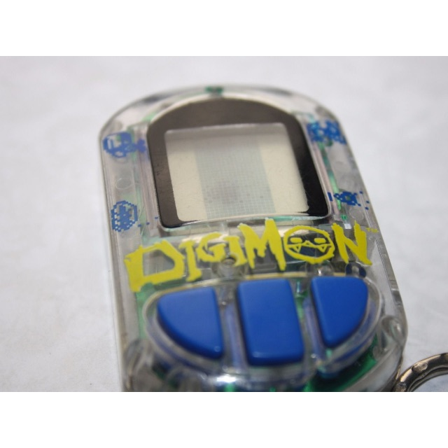 Digimon Transparent Bandai 2003 Working Clear