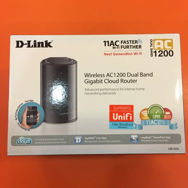 D-link Wireless AC1200 Dual Band For Unifi