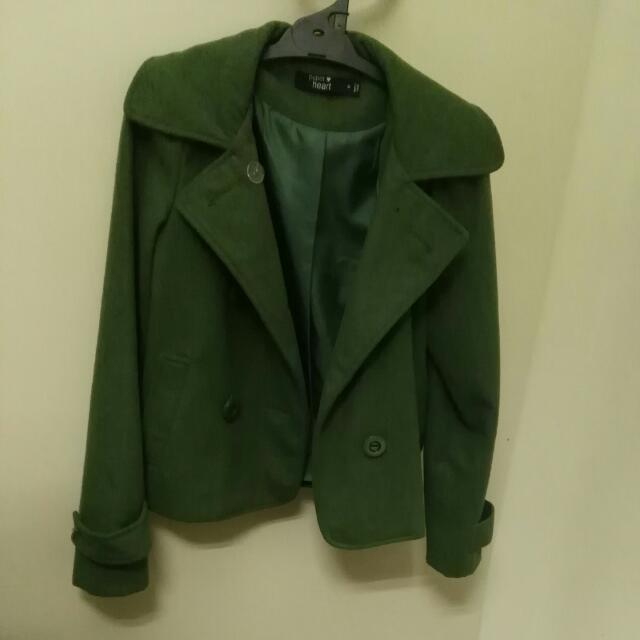 Forest Green Winter Coat