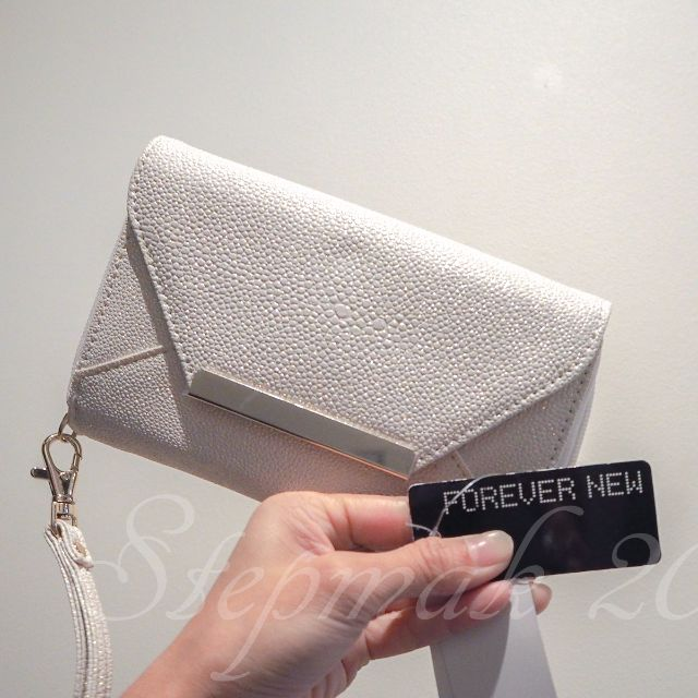 Forever New Glittery Phone Wristlet/ Wallet/ Clutch (new with tag)