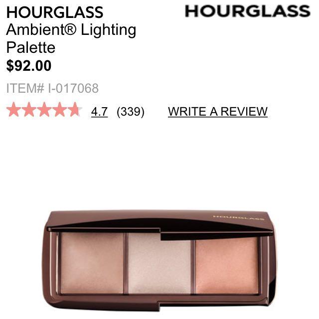 Hourglass Lighting Palette