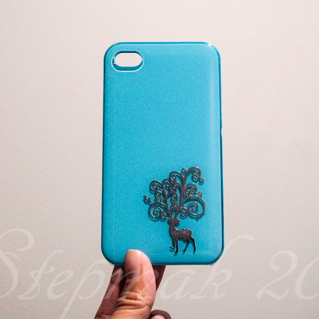 iPhone 4 Case Blue