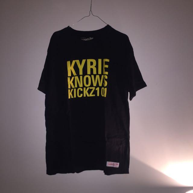 Kyrie knows kicks 101 tee