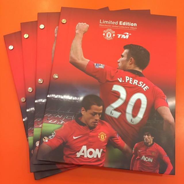 Limited Edition Manchester United Collectors Album
