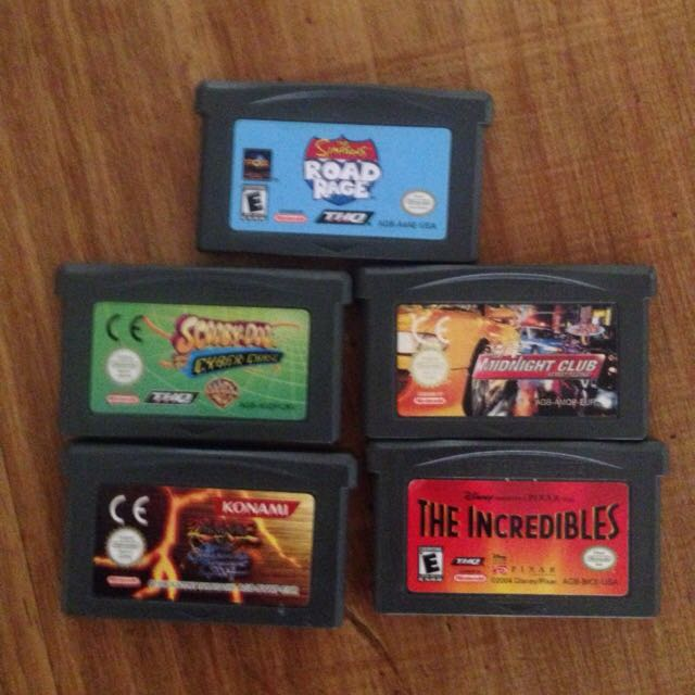 Micro Game boy Games