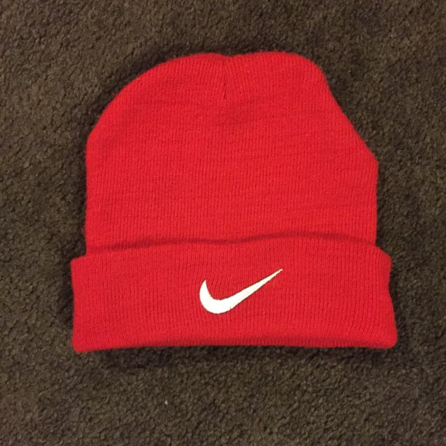 Red Nike Hat