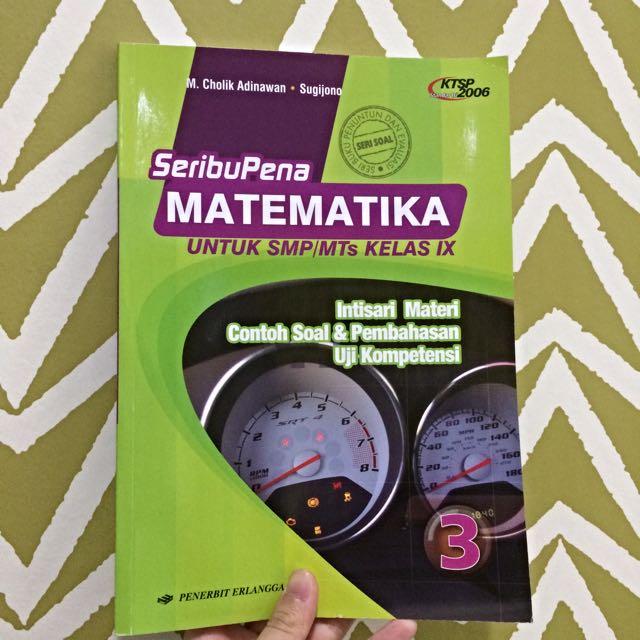 Seribu Pena Matematika Untuk Kelas 9