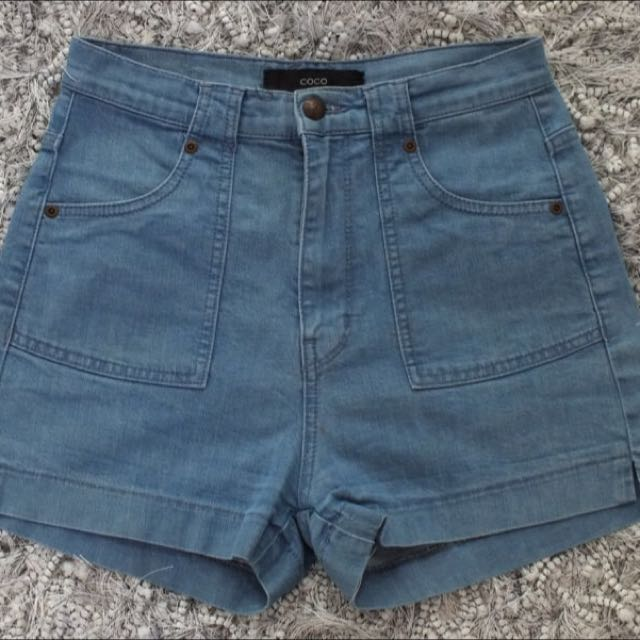 The Beautiful And The Damned High Waisted Shorts