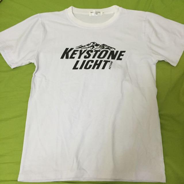 復古白色T-shirt